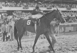 Venezuelan import Canonero II and Gustavo Avila won the 1974 Kentucky Derby. Photo: Churchill Downs