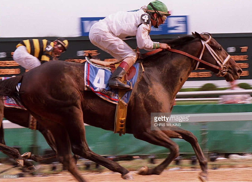 Stallion Stories Grindstone Lady And The Track