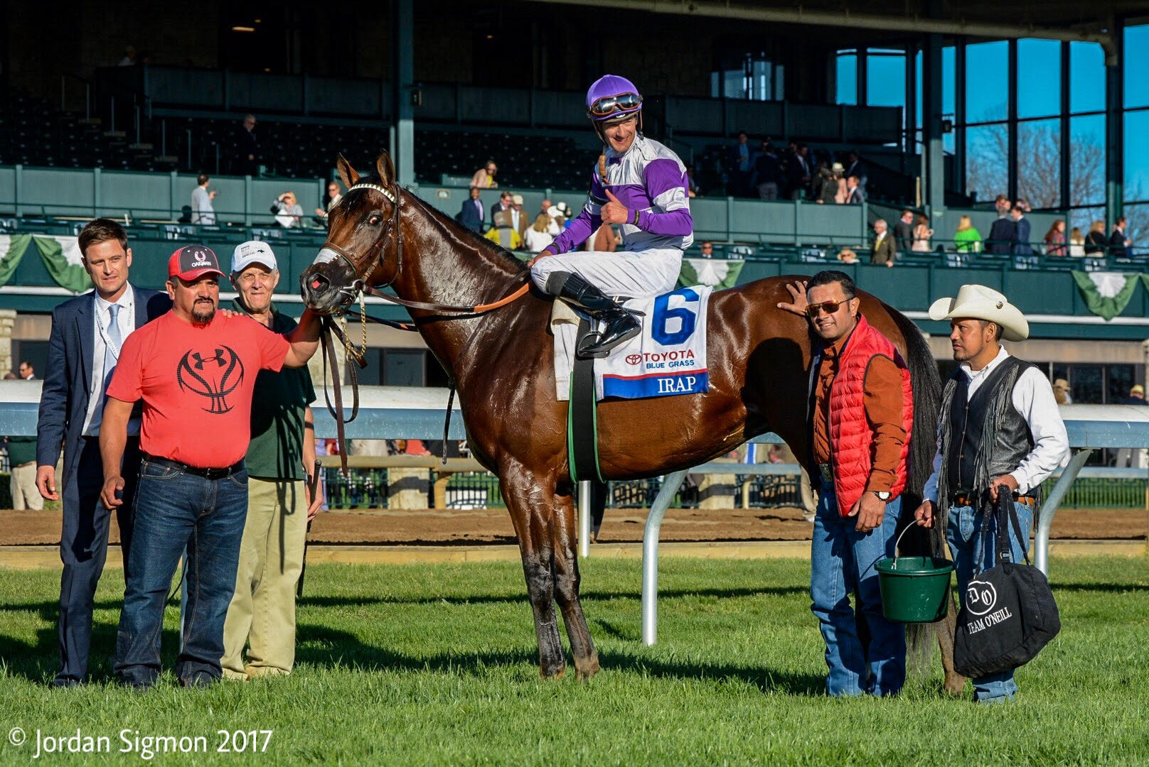 Irap Goes From Maiden To Derby Candidate With Blue Grass