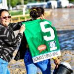 Always Dreaming's winning Kentucky Derby saddle towel. Photo: Jordan Sigmon