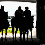 Ponies in the tunnel at Churchill Downs, Kentucky Derby Day 2017. Photo: Jordan Sigmon