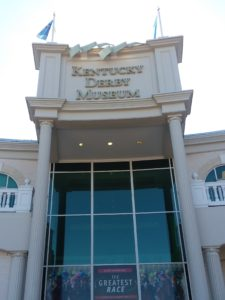 The entrance to the Kentucky Derby Museum at Churchill Downs. Photo: Mary Perdue