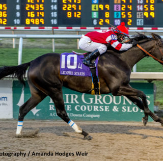 Instilled Regard Wins Lecomte Stakes With Ease