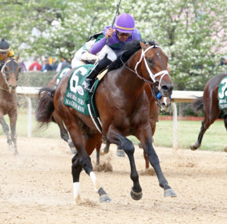 Magnum Moon Rises To Arkansas Derby Victory