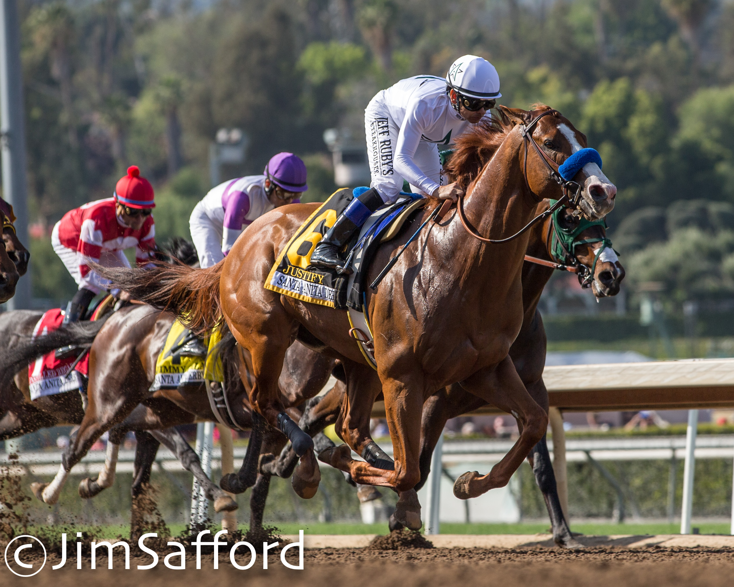 Justify Does Just That For Kentucky Derby With Santa Anita