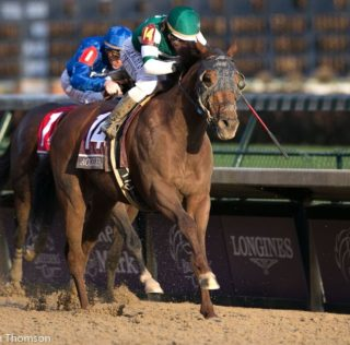 Accelerate Argues Case For Horse Of The Year With Classic Victory