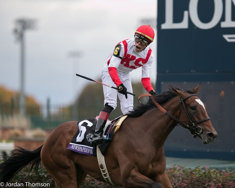 Breeders Cup 2018 Friday Photo Gallery Lady And The Track