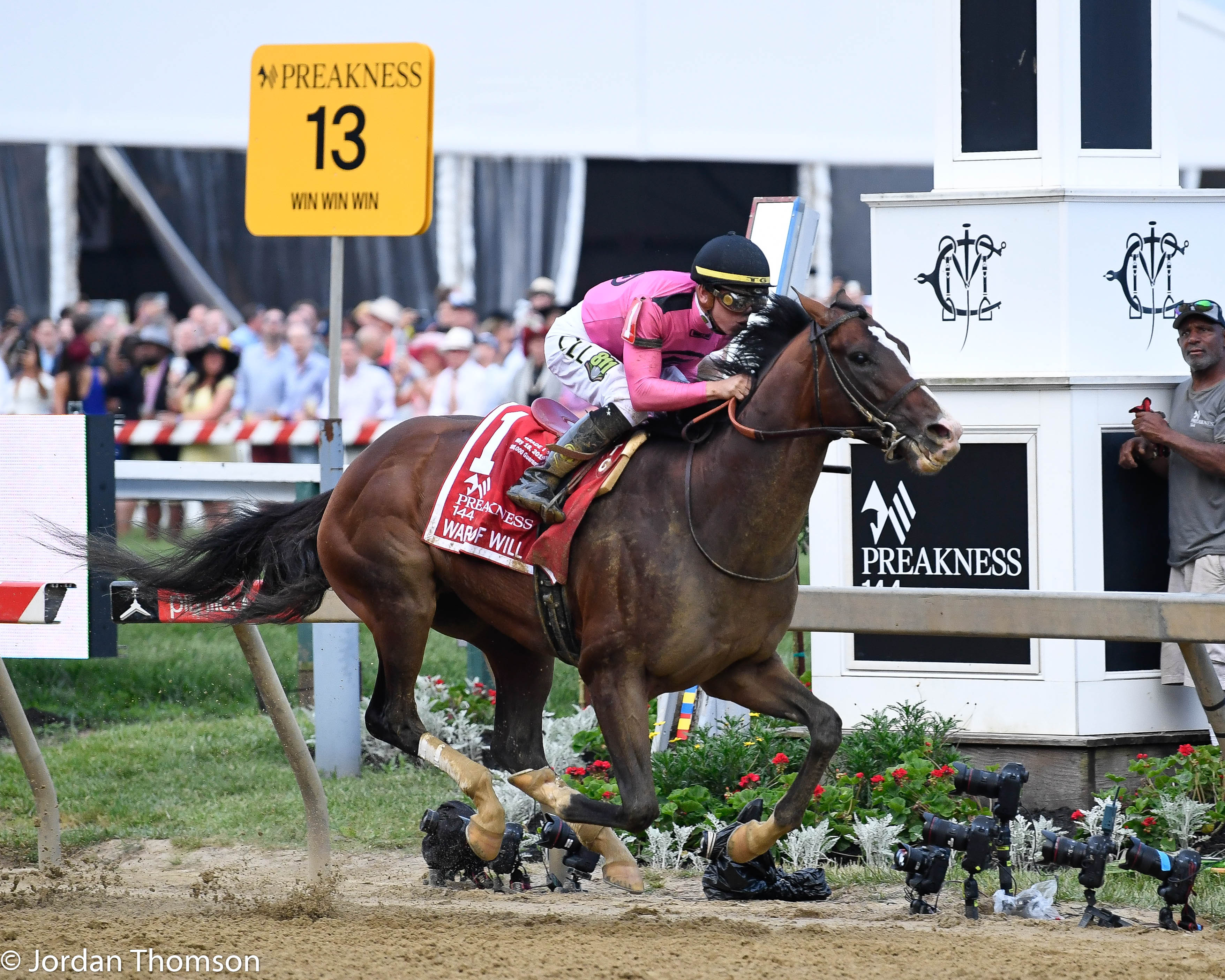 War Of Will Brushes Off Derby Kerfuffle, Picks Up Preakness